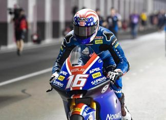MotoGP: Joe Roberts da American Racing larga na pole da Moto2