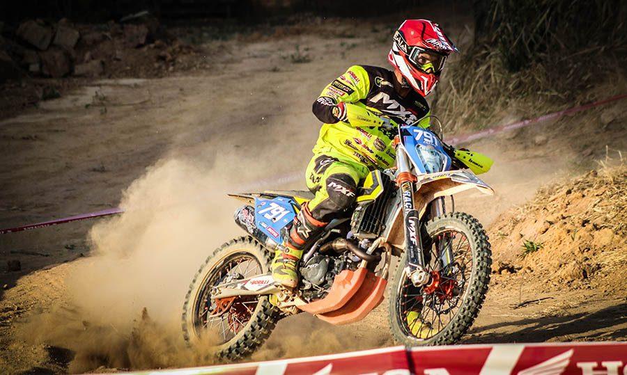 Anderson da Luz (Caxopa) - um dos pilotos da MXF  - Crédito: Brumel Neto