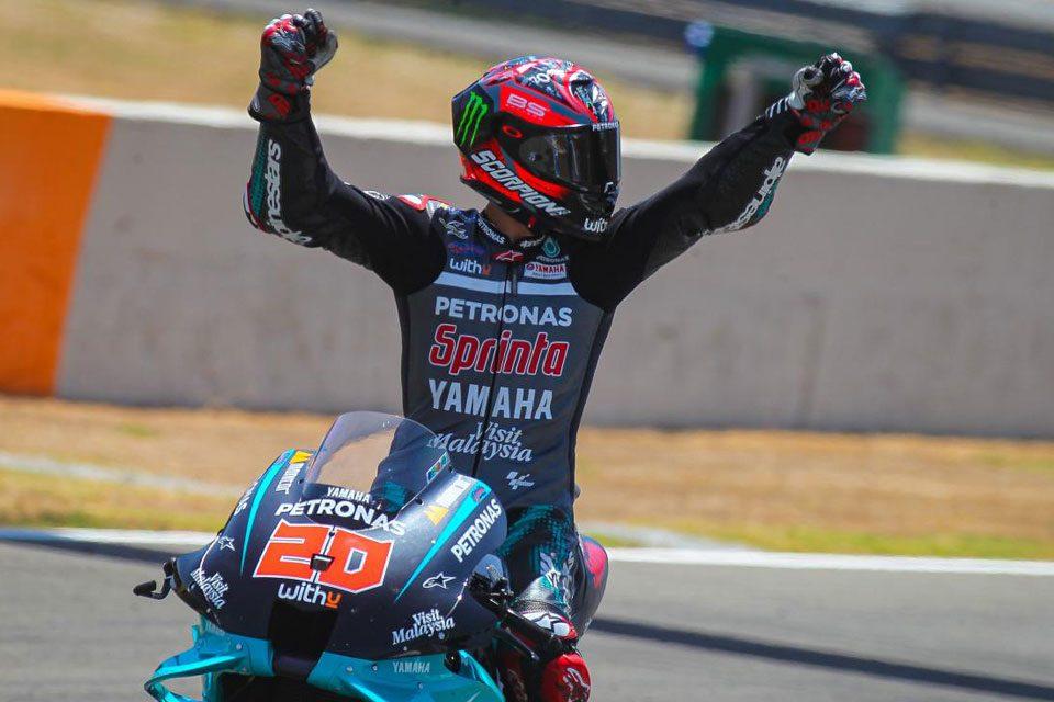 MotoGP: Fabio Quartararo conquista sua primeira vitória em Jerez - 2020