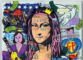 Quadro Mona Lisa Ducati - A pintura será leiloada na quinta-feira, 16 de julho, e o resultado será destinado à #RaceAgainstCOVID