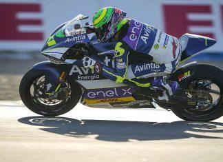 MotoE: Granado sofre batida mas termina a prova em Jerez
