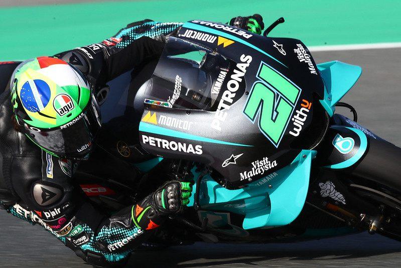 Depois do acidente impressionante, Franco Morbidelli passou por exames médicos e está liberado para a prova - Foto: Petronas Yamaha