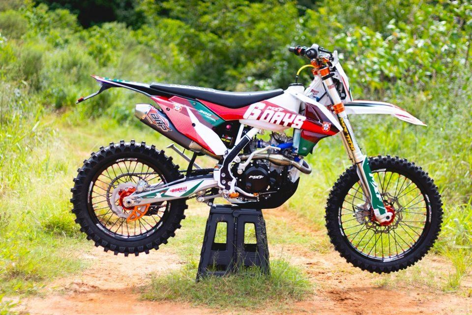 MXF 300RX Six Days - Créditos: Divulgação MXF Motors