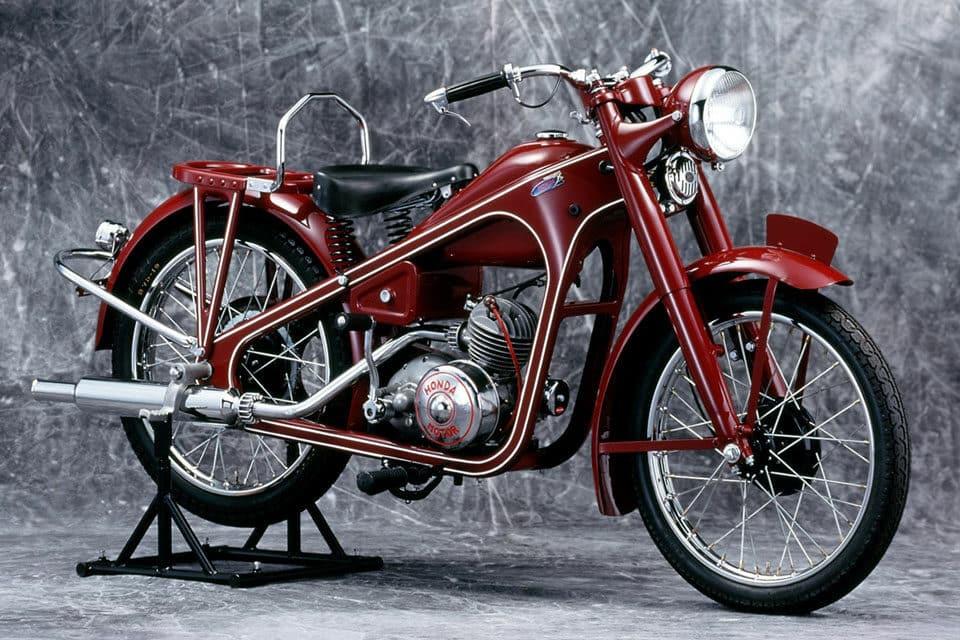 Motos Honda - 98cc Dream Type-D