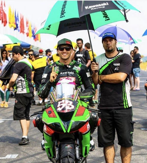 Kawasaki Racing Brasil - Piloto Leo Tamburro