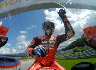 MotoGP: Andrea Dovizioso vence na Áustria