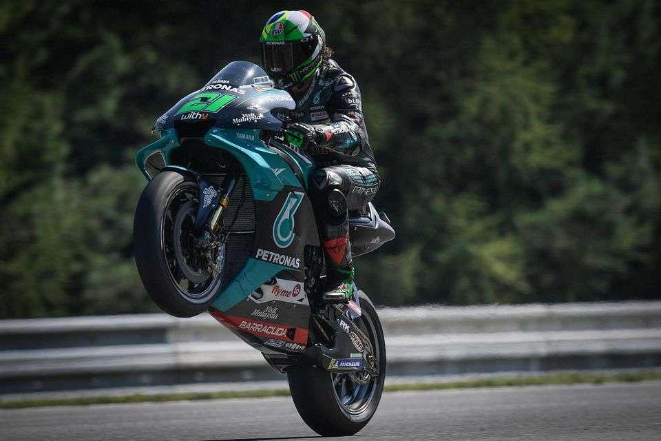 Franco Morbidelli conquistou seu primeiro pódio na categoria principal da MotoGP