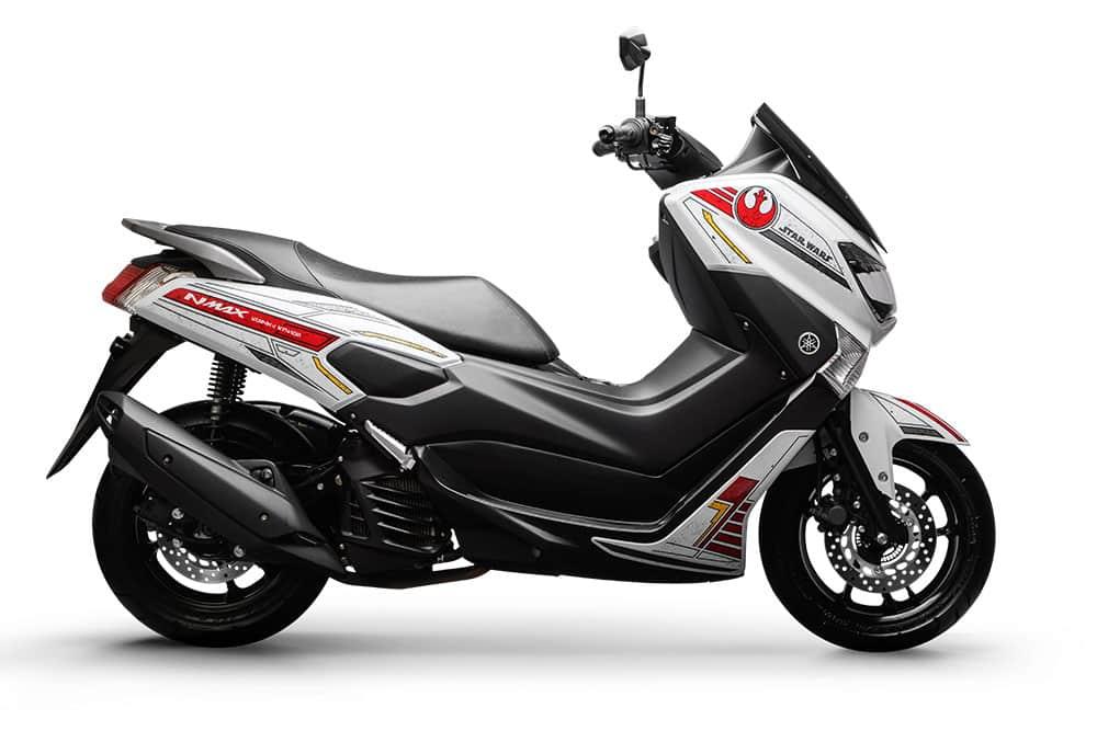 Yamaha Nmax 160 ABS - versão Aliança Rebelde