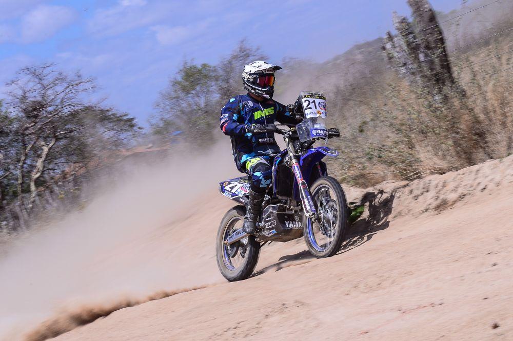 O francês Adrien Metge, da Yamaha faturou o vice no 22º Rally RN 1500 - Foto: Claudiney Sandro