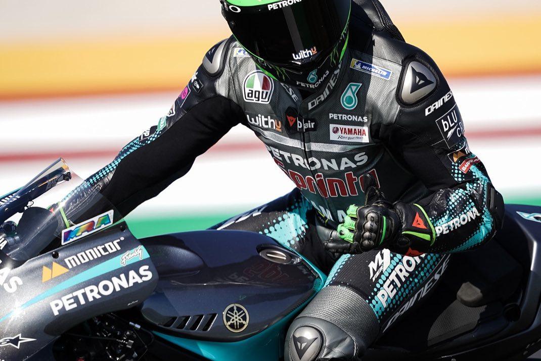 """Franco Morbidelli conquista sua primeira vitória na MotoGP """"em casa"""". - Foto reprodução da rede social do piloto"""
