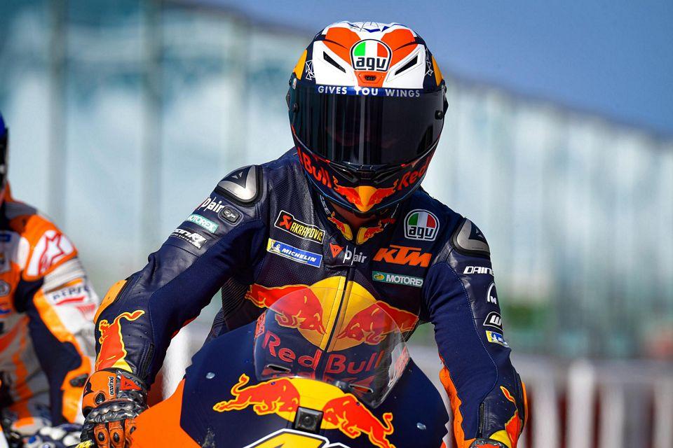 Pol Espargaro, da KTM completou o pódio na segunda corrida de Misano