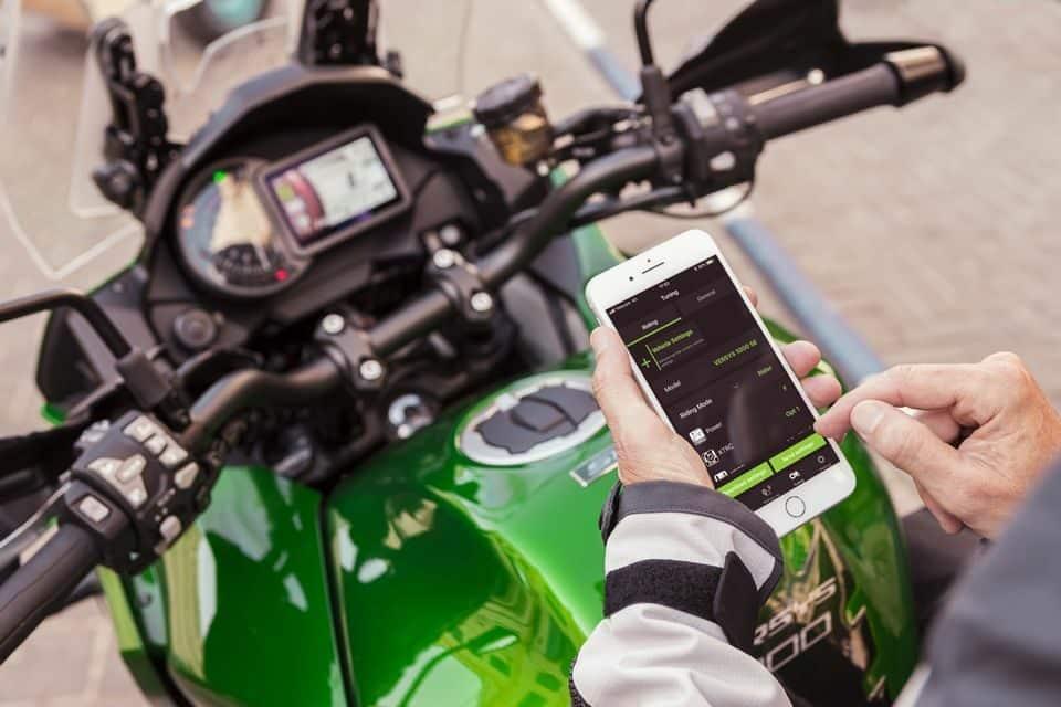 Kawasaki Versys  - APP Rideology