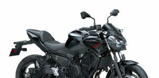 Kawasaki Z650 2021 - Metallic Spark Black / Metallic Flat Spark Black