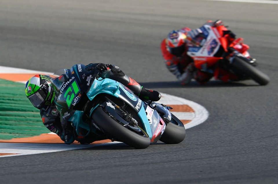 Franco Morbidelli travou uma batalha fenomenal com Jack Miller pela primeira posição na última volta