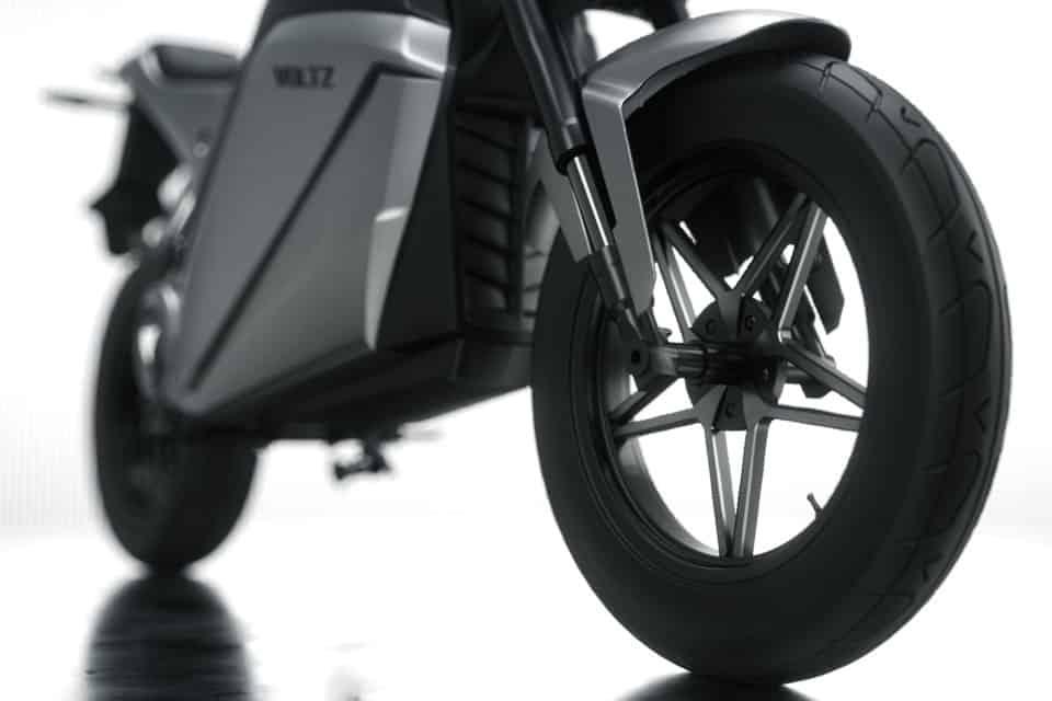 A moto elétrica EVS da Voltz