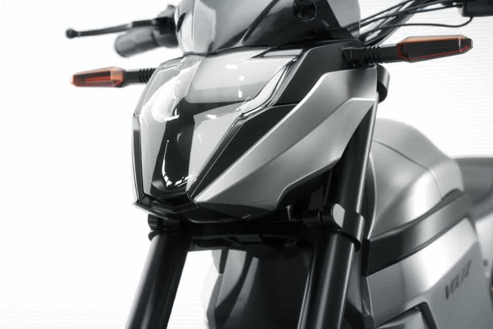 A moto elétrica EVS foi lançada em um evento ao vivo em outubro de 2020