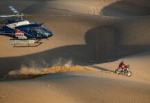 Kevin Benavides no Dakar 2021