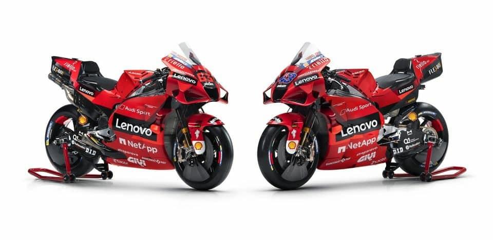 MotoGP: Ducati apresenta a nova equipe e parceria com a Lenovo em evento online