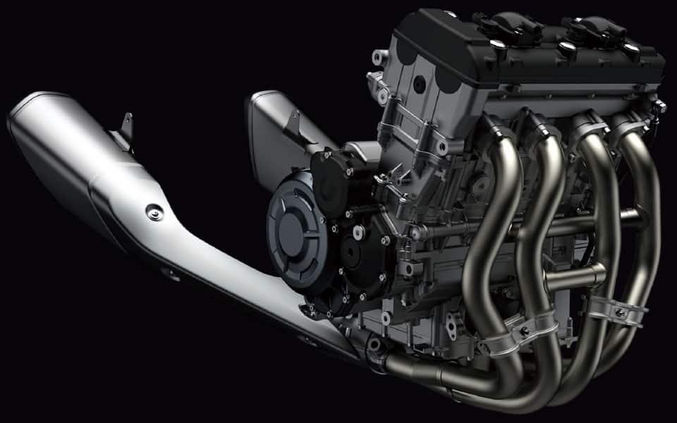 Hayabusa 3ª Geração - Motor