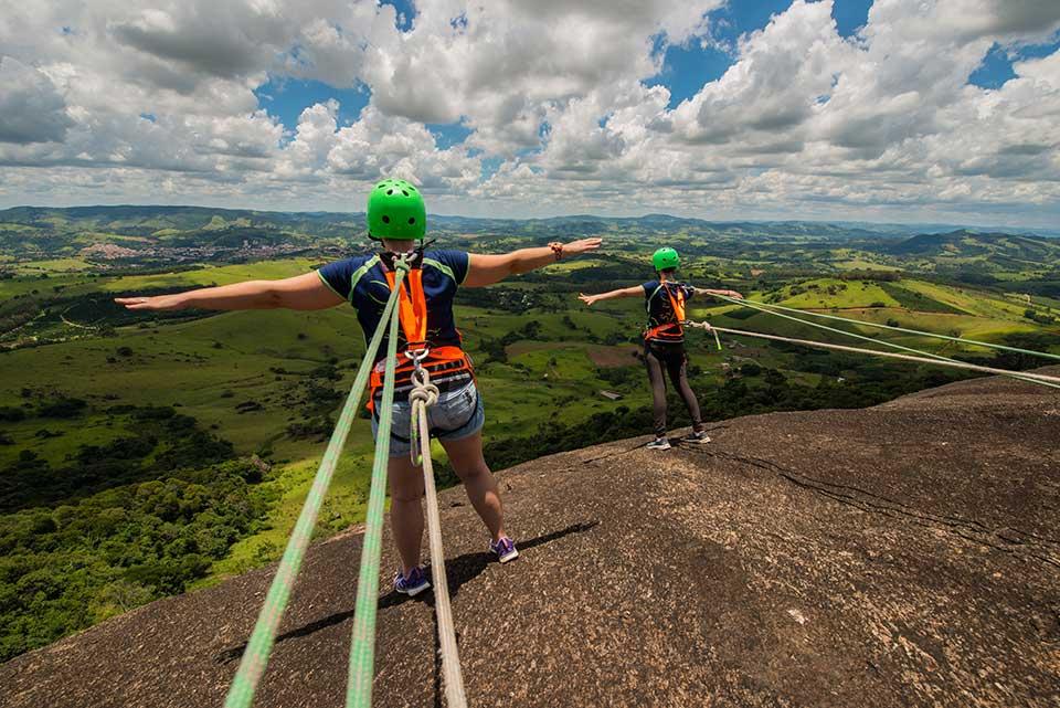 Mirante Pedra Bela Vista linda paisagem e muita aventura - ROCK VIEW VGCOM - ASTUR - PEDRA BELA VISTA - DANIEL ROSA