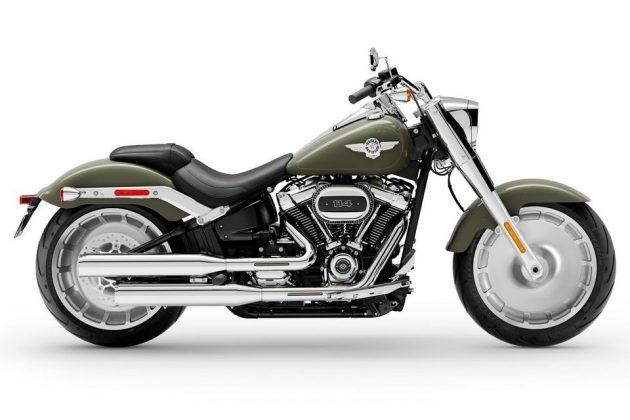 Linha Harley-Davidson 2021 - H-D Fat Boy 2021