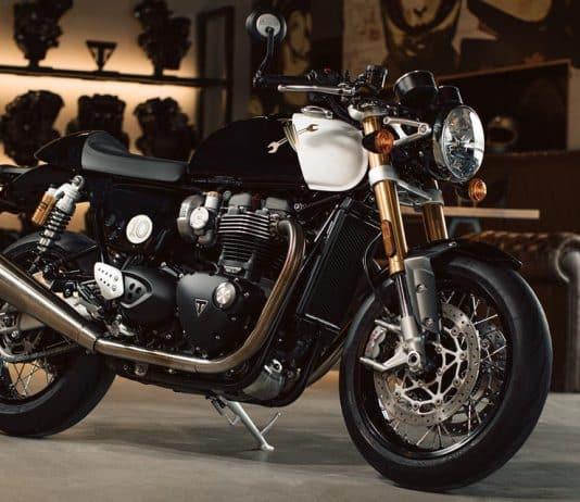Para o DGR deste ano, que aconteceu no último domingo, dia 23, a Triumph criou uma motocicleta impressionante e exclusiva: a Thruxton 1200 RS.