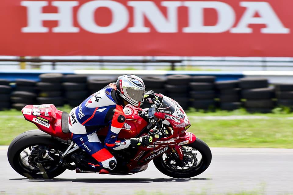 Guilherme Brito, atual campeão da Copa Pro Honda CBR 650R - Foto Ricardo Santos/ Mundo Press