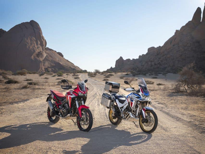 Serão quatro as Africa Twin 2021 à venda no Brasil: CRF 1100L, CRF 1100L DCT, CRF 1100L Adventure Sports ES e Adventure Sports ES DCT