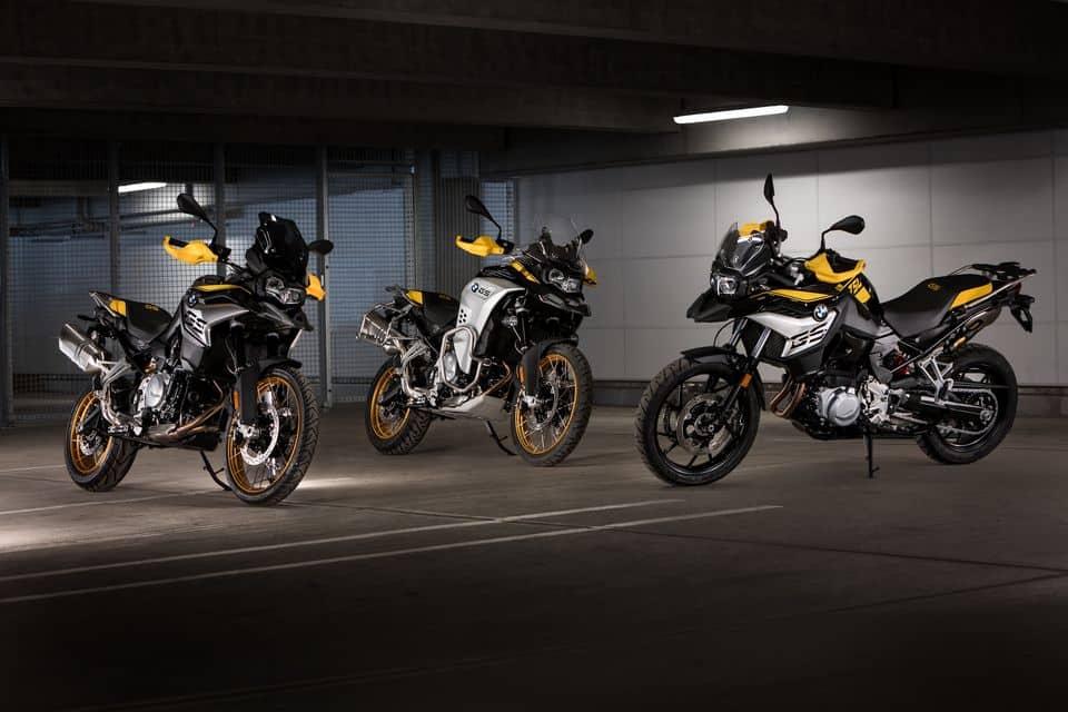 BMW Motorrad celebra os 40 anos da linha GS com novos modelos