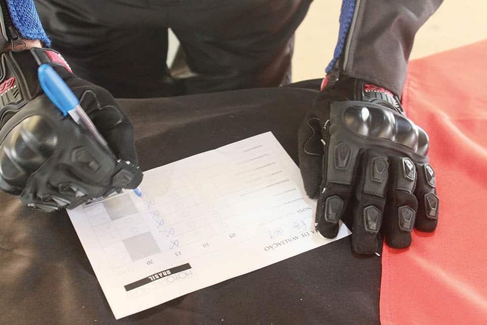 O voto é secreto e um dos momentos mais importantes do evento VGCOM - Arquivo Concurso Moto Premium 2020