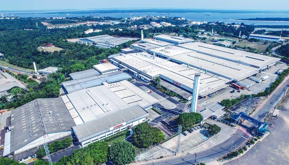 Fábrica da Yamaha em Manaus
